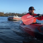 The River Bann's kayaking litter-picker