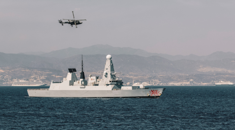 Type45  destroyer Royal Navy